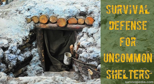 Underground Wood Shelter : Survival defense for uncommon shelters survivopedia