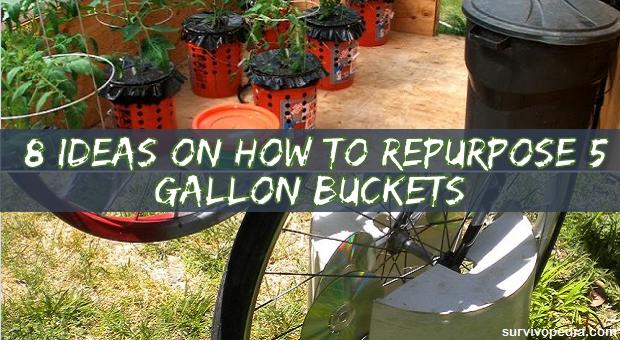 8 Ideas On How To Repurpose 5 Gallon Buckets Survivopedia