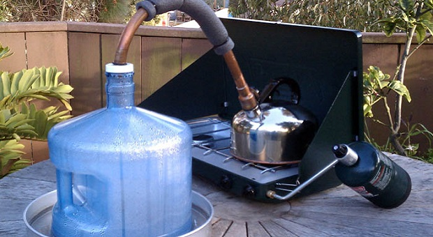 Do It Yourself Water Distiller ~ How to turn salt water into drinking survivopedia