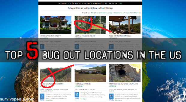 Bug Out Location Design : Top best bug out locations in the us survivopedia