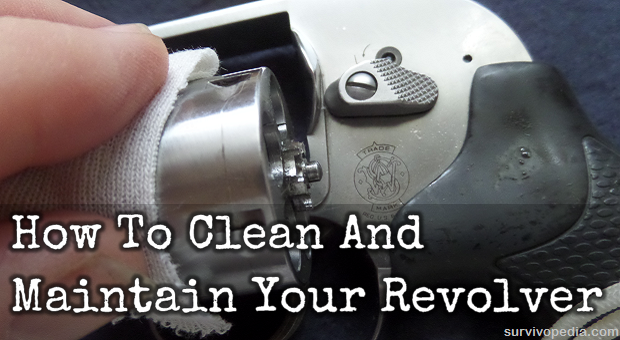 Clean and maintain revolver