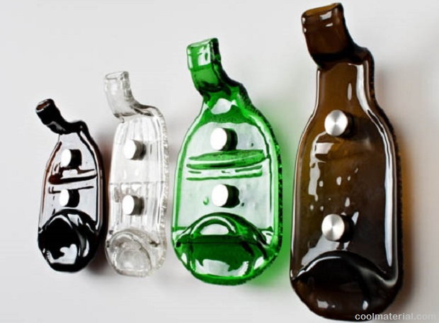 7 smart ideas to reuse glass bottles survivopedia for Cool things to do with a wine bottle