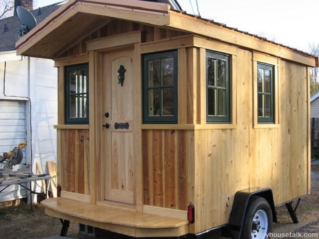 On wheels is the new off grid a guide to tiny houses for Tiny house payment plan