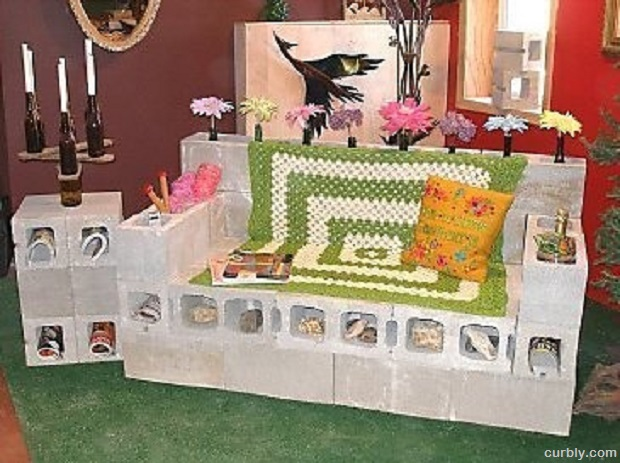 DIY Projects 15 Ideas For Using Cinder Blocks