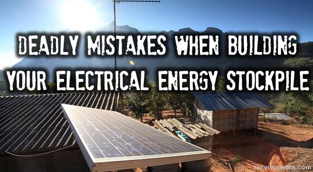 Energy stockpile mistakes