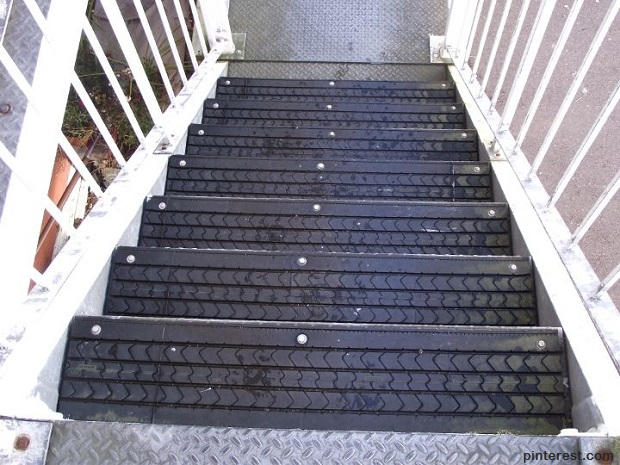 Tires Stairs