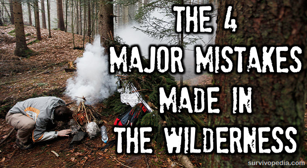 Wilderness mistakes