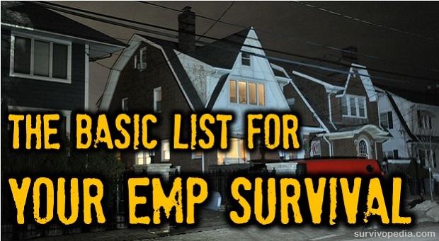 Survival guide emp attack