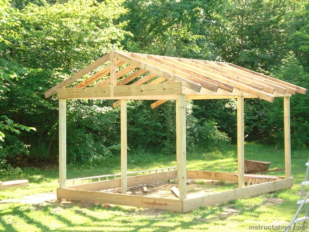 Survival projects diy small cabin survivopedia for Building a cottage on a budget