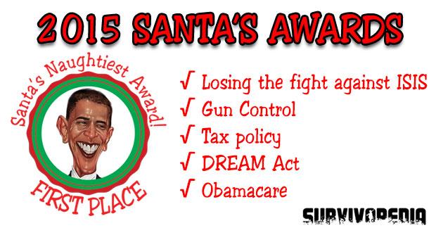 Obama on Santa s Naughty List - SURVIVOPEDIA