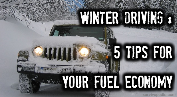 winter driving 5 tips for your fuel economy survivopedia. Black Bedroom Furniture Sets. Home Design Ideas