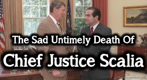 Chief Justice Scalia