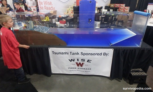 Children's Tsunami Tank