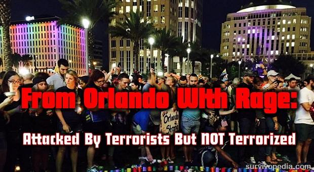 Survivopedia from Orlando with rage