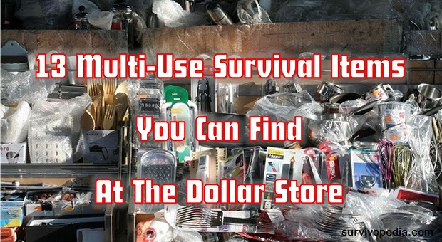 13 Multi-Use Survival Items You Can Find At The Dollar Store