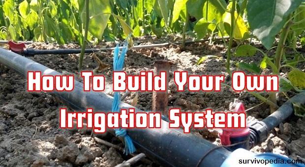 Survivopedia diy irrigation system