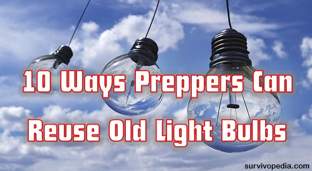 Survivopedia repurpose light bulbs