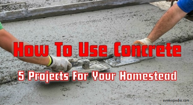 Use Concrete for DIY Projects