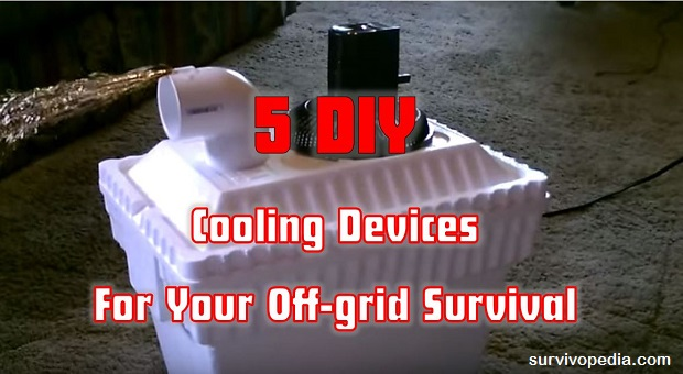 Survivopedia DIY cooling devices