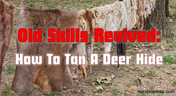 Survivopedia-tanning a deer hide