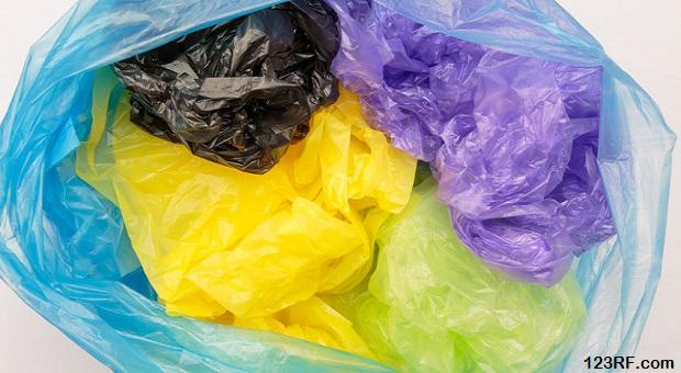 44975318 - disposable plastic bags