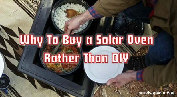 Why buy a solar oven