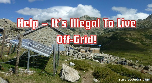 Living Off-grid illegal