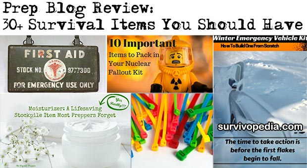 Prep Blog Review: 30+ Survival Items You Should Have