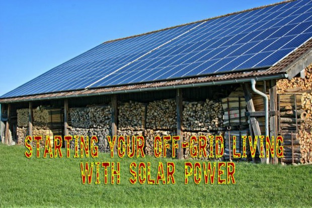 starting-your-off-grid-living-with-solar-power