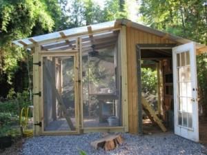 DIY hen house
